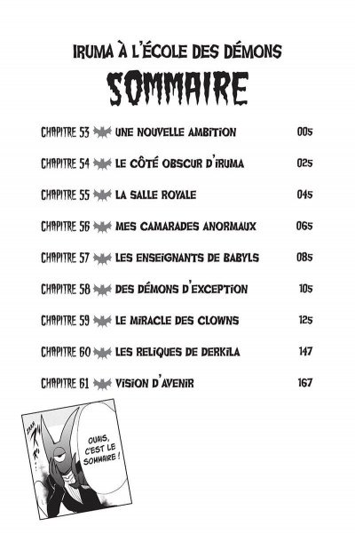 Page 4 Iruma à l'école des démons tome 7