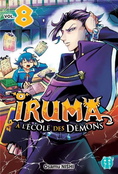 Couverture Iruma à l'école des démons tome 8