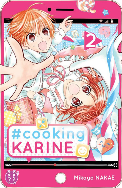 Couverture #Cooking Karine tome 2