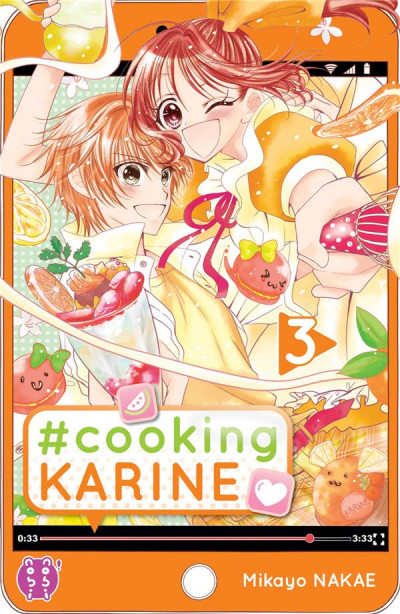 Couverture #Cooking Karine tome 3
