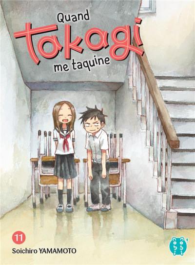 Couverture Quand Takagi me taquine tome 11