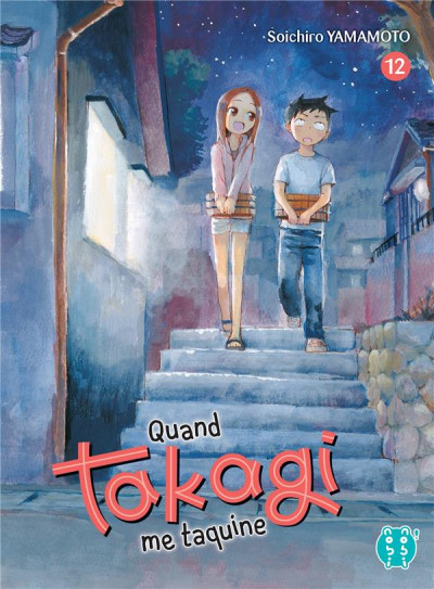 Couverture Quand Takagi me taquine tome 12