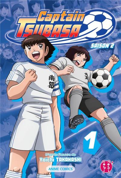 Couverture Captain Tsubasa - anime comics (saison 2) tome 1