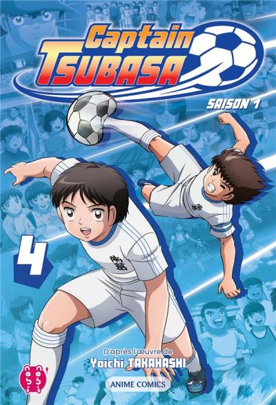 Couverture Captain Tsubasa - anime comics (saison 1) tome 4