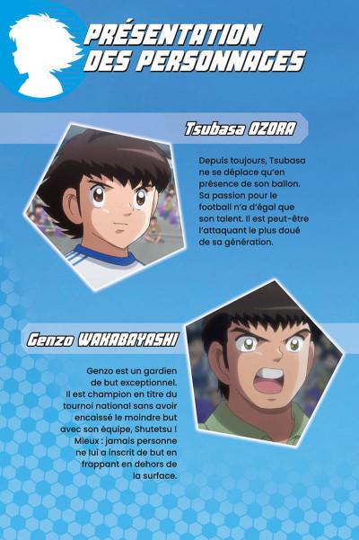 Page 2 Captain Tsubasa - anime comics (saison 1) tome 4