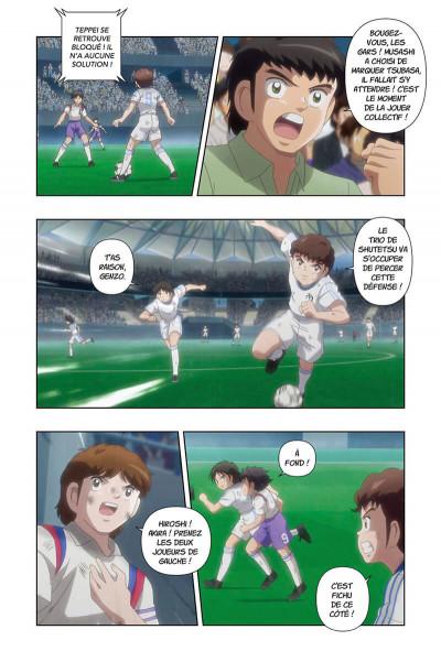 Page 6 Captain Tsubasa - anime comics (saison 1) tome 4