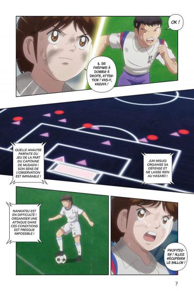 Page 7 Captain Tsubasa - anime comics (saison 1) tome 4