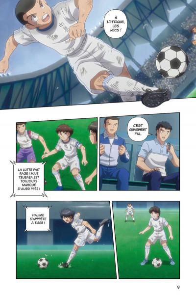 Page 9 Captain Tsubasa - anime comics (saison 1) tome 4
