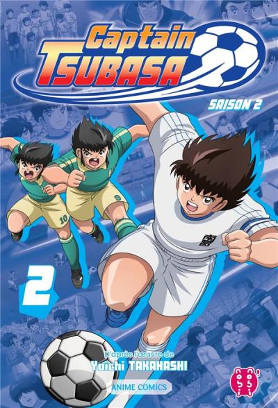Couverture Captain Tsubasa - anime comics (saison 2) tome 2