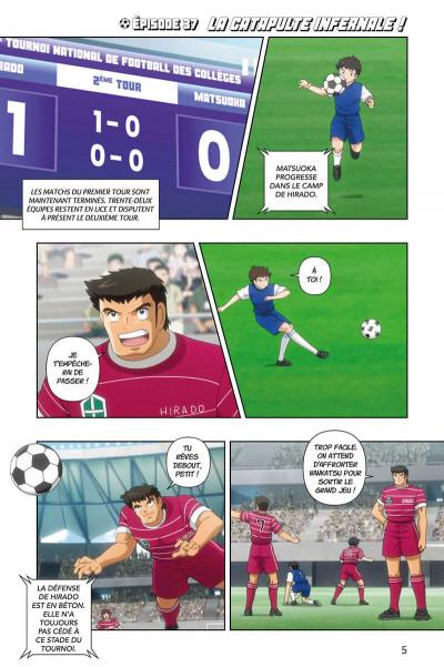 Page 5 Captain Tsubasa - anime comics (saison 2) tome 2