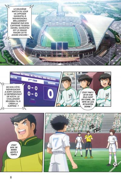 Page 8 Captain Tsubasa - anime comics (saison 2) tome 2