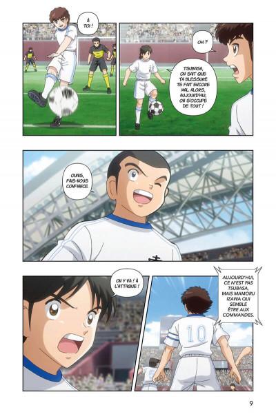 Page 9 Captain Tsubasa - anime comics (saison 2) tome 2