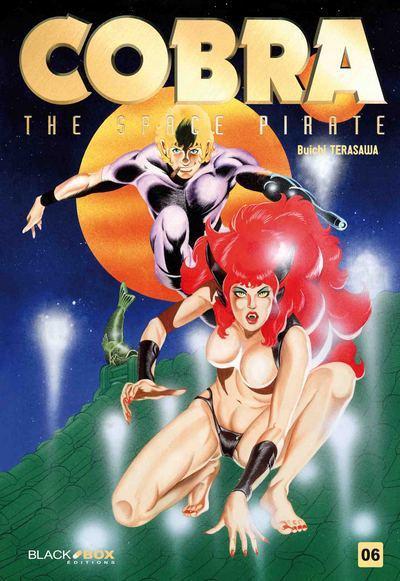 Couverture Cobra - the space pirate tome 6