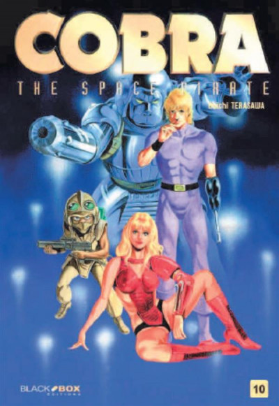 Couverture Cobra - the space pirate tome 10