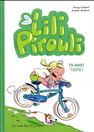 Couverture Lili Pirouli tome 3 - en avant toute !