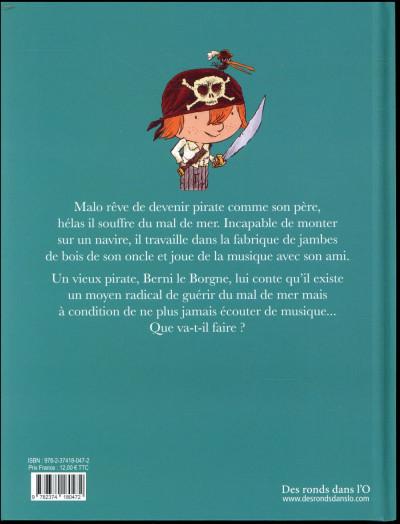 Dos Pirate ! - le pirate qui avait le mal de mer