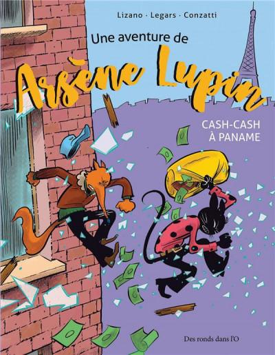 Couverture Une aventure de Arsène Lupin - Cash-cash à Paname
