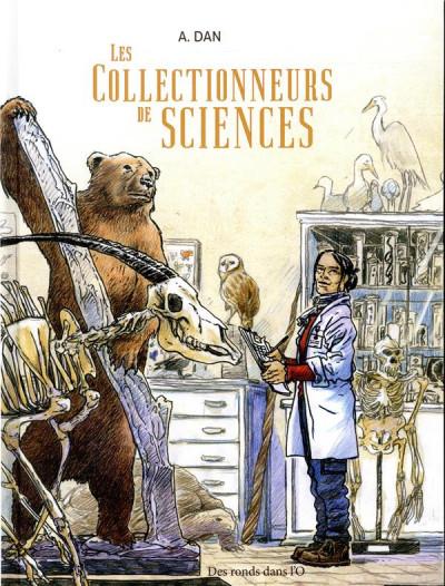 Couverture Les collectionneurs de sciences