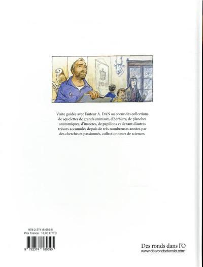 Dos Les collectionneurs de sciences