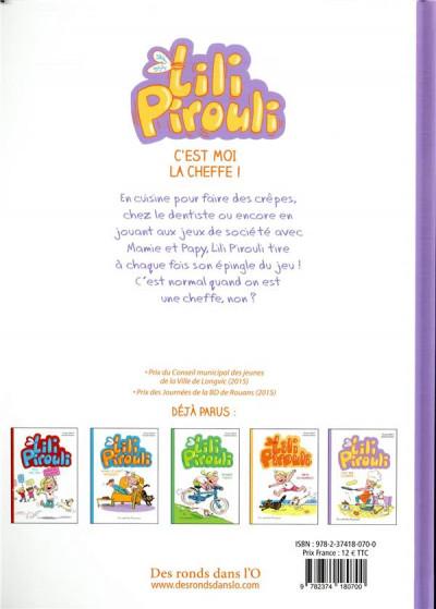 Dos Lili Pirouli tome 5