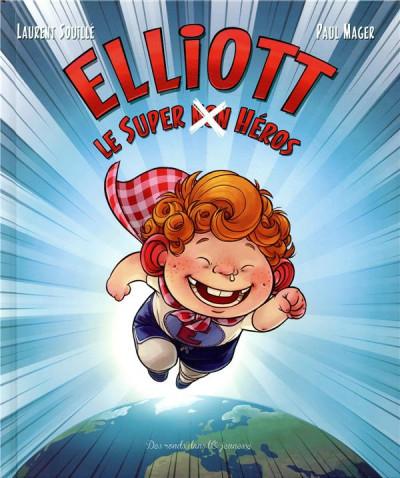 Couverture Elliott le super non héros