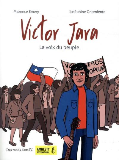 Couverture Victor Jara - La voix du peuple