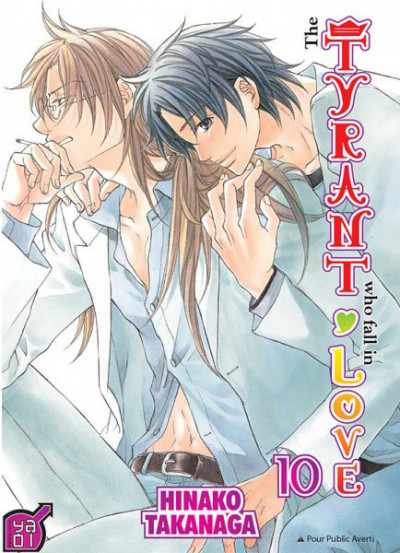 Couverture The tyrant who fall in love tome 10
