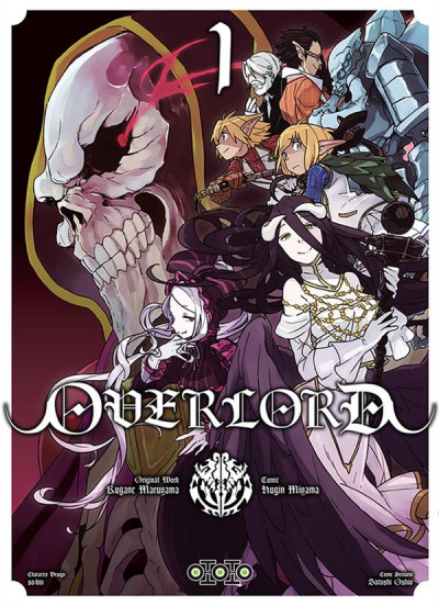 Couverture Overlord tome 1