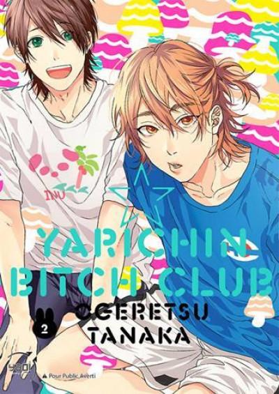 Couverture Yarichin bitch club tome 2