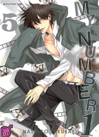Couverture My number one tome 5