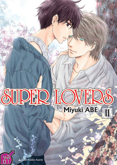 Couverture Super lovers tome 11