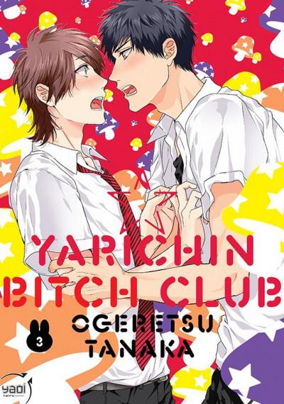 Couverture Yarichin bitch club tome 3