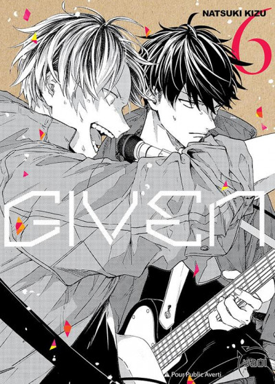 Couverture Given tome 6