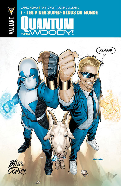 Couverture Quantum & Woody tome 1