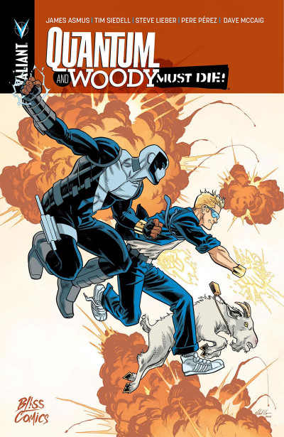 Couverture Quantum & Woody must die !