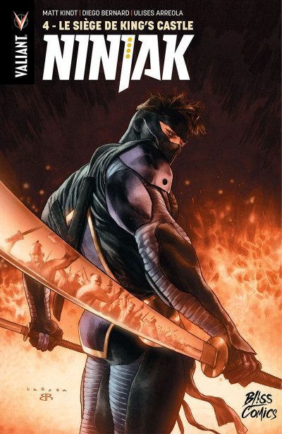 Couverture Ninjak tome 4
