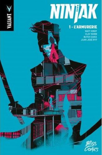 Couverture Ninjak tome 1