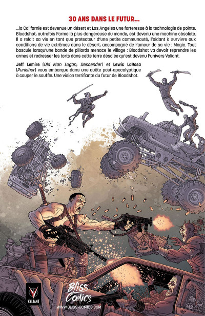 Page 1 Bloodshot reborn tome 3 - l'homme analogique