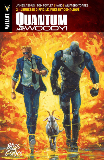 Couverture Quantum & Woody tome 3