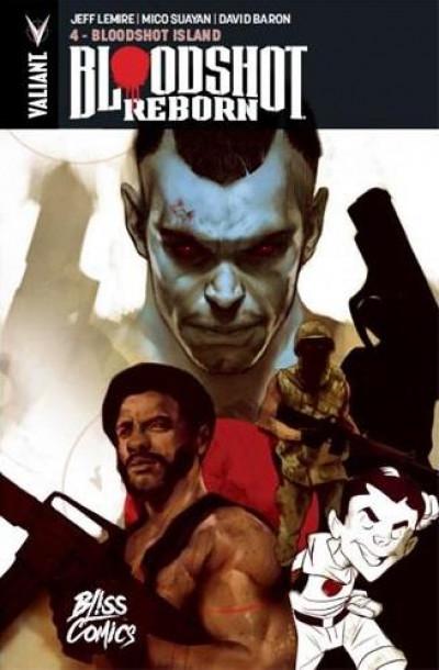 Couverture Bloodshot reborn tome 4
