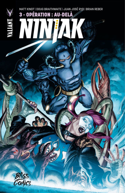 Couverture Ninjak tome 3