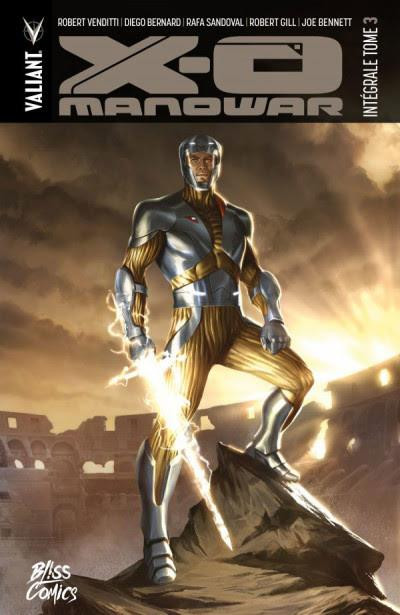 Couverture X-O Manowar - intégrale tome 3
