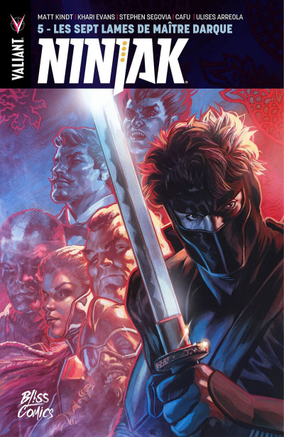 Couverture Ninjak tome 5