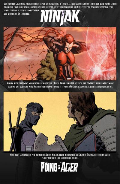 Page 9 Ninjak tome 5