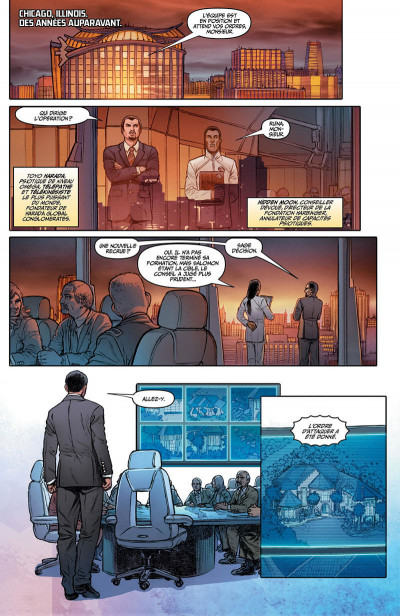 Page 0 Harbinger renegade tome 1