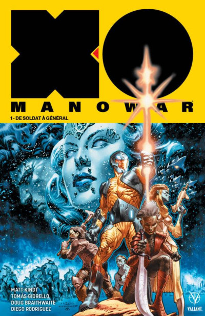Couverture X-O manowar tome 1