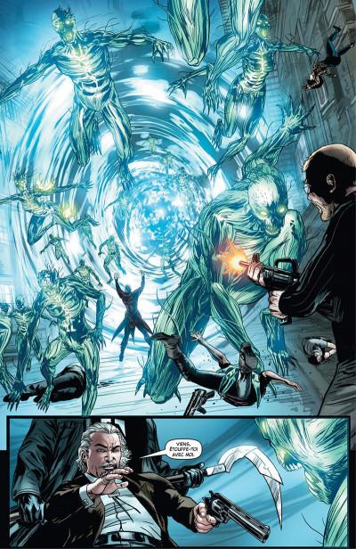 Page 0 Shadowman - intégrale
