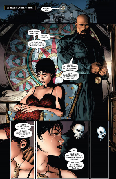 Page 8 Shadowman - intégrale