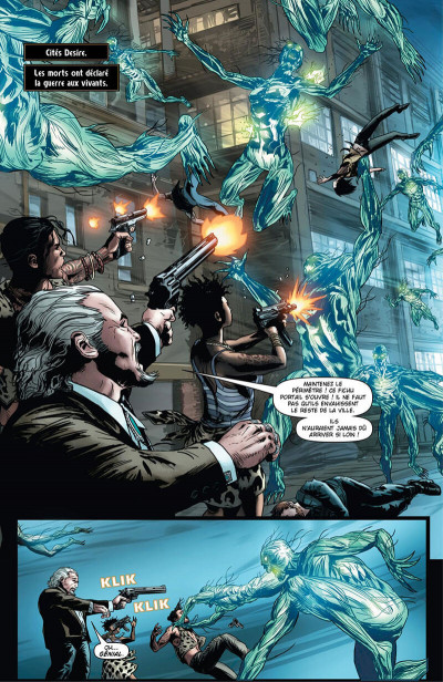 Page 9 Shadowman - intégrale