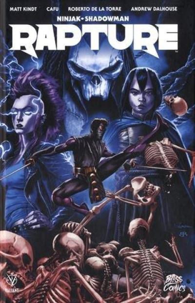 Couverture Ninjak, Shadowman - Rapture